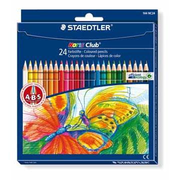 Crayons de couleur, feutres et pastels