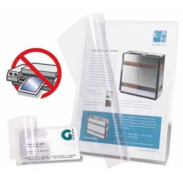 Self laminating cards